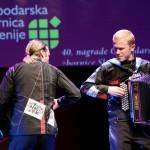 Spopad harmonik na podelitvi nagrad Gospodarske zbornice, Cankarjev dom